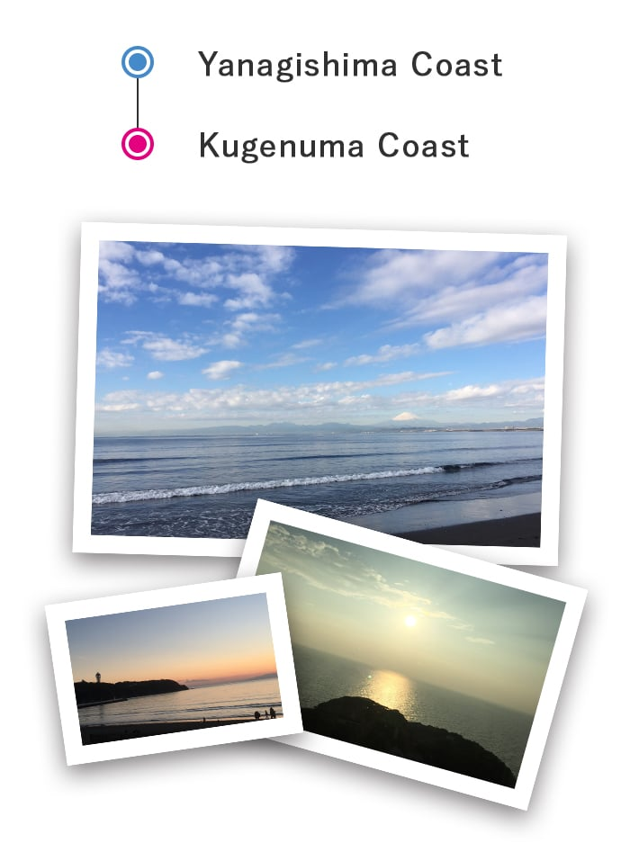 anagishima Kaigan Coast – Kugenuma Kaigan Coast Cycling Course
