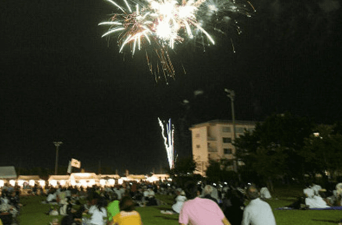 West district fireworks display