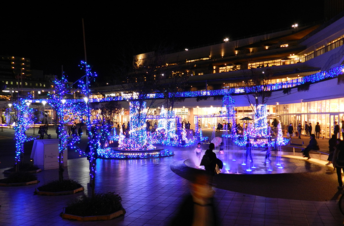 Terrace Mall 湘南 Xmas Illumination 2018-Fantasia in the sky-